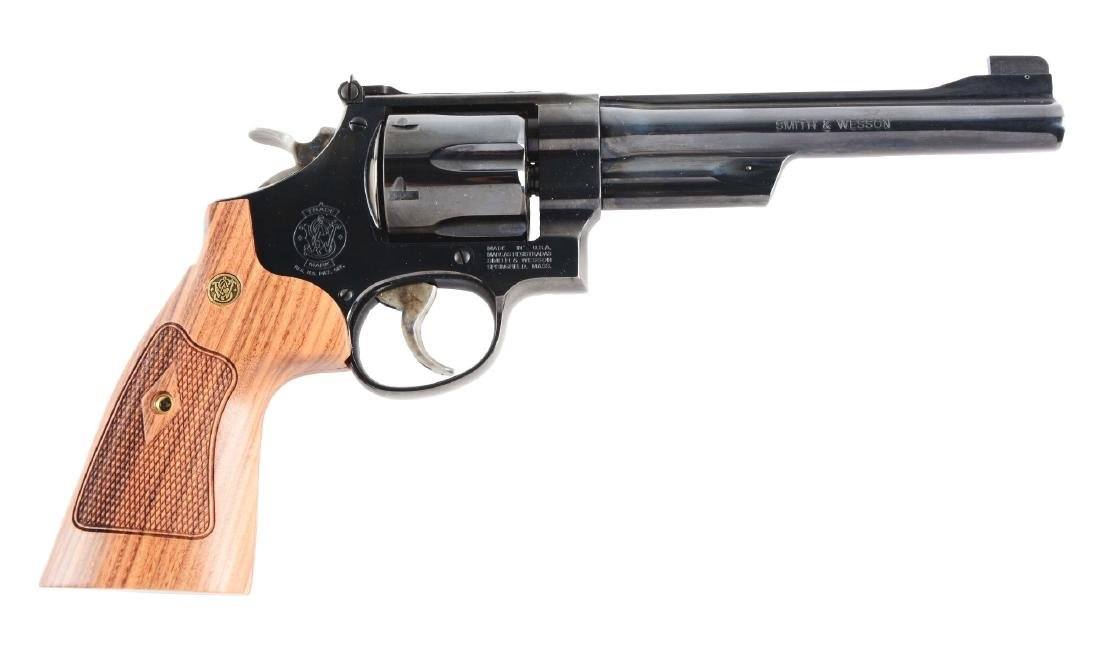 (M) Boxed S&W Model 25-15 Double Action Revolver.