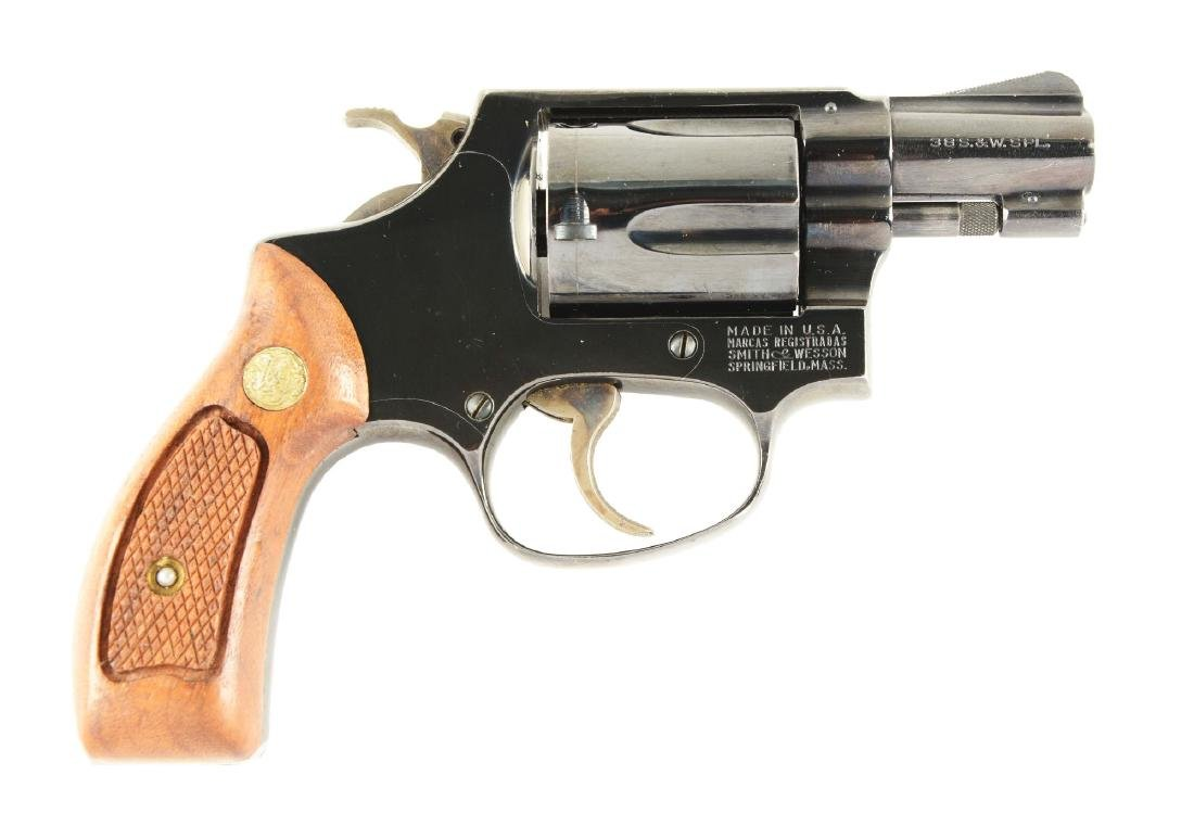 (M) S&W Model 36 Double Action Revolver.