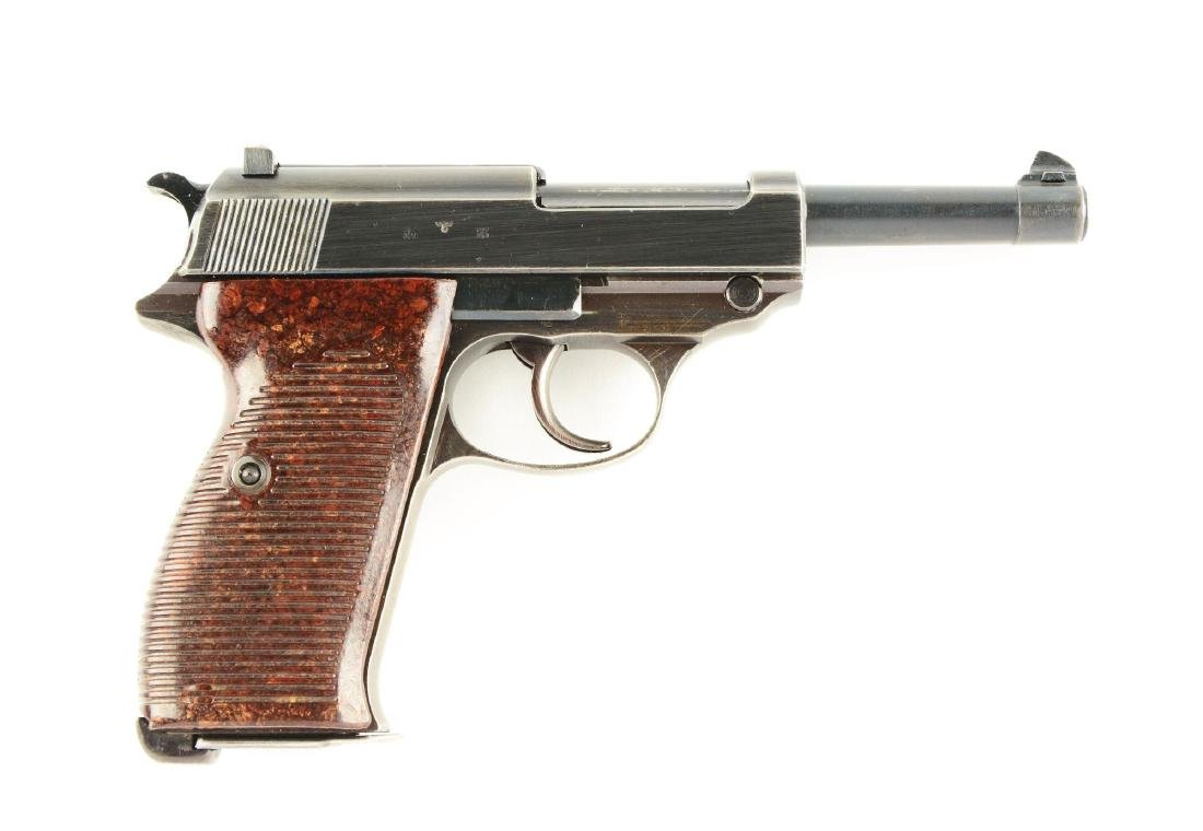 (C) Walther P.38 ac43 Semi-Automatic Pistol.