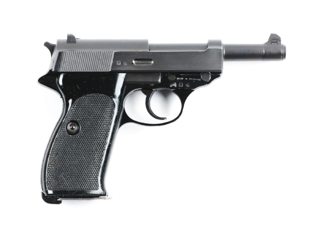 (M) Walther Model P-4 Semi-Automatic Pistol.