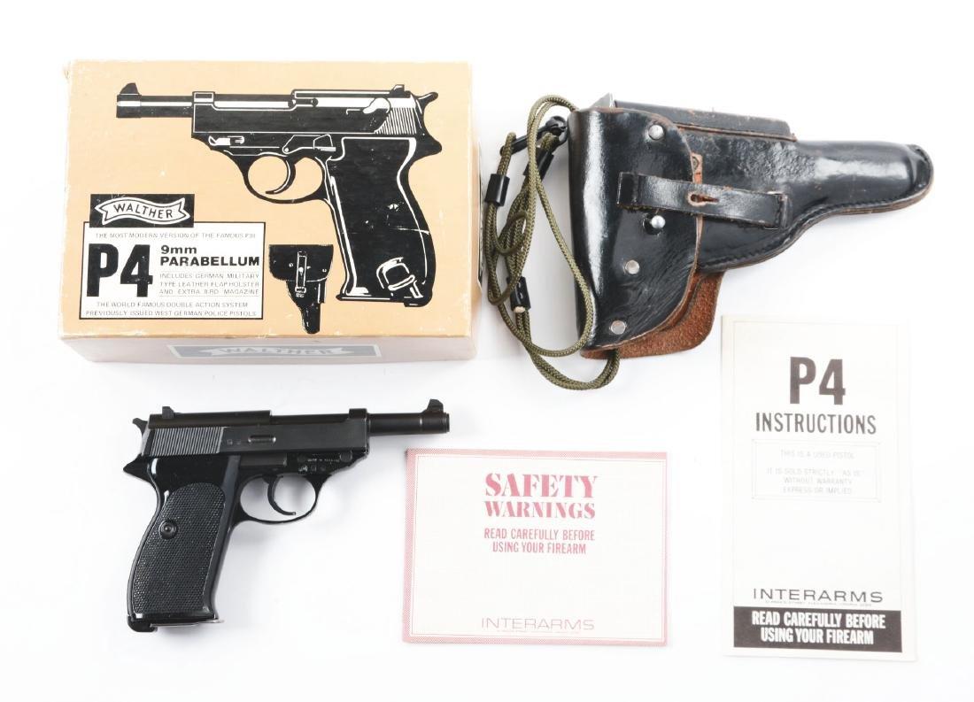 (M) Walther Model P-4 Semi-Automatic Pistol. - 5