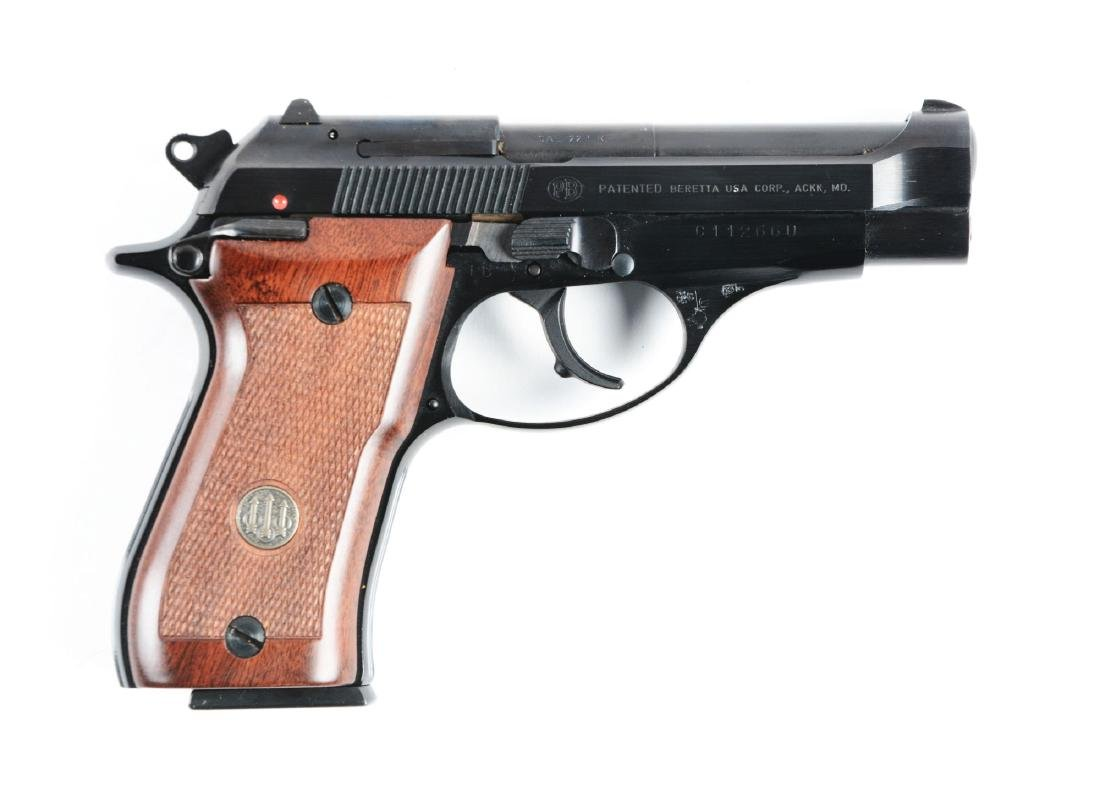 (M) Beretta Model 87 Double Action Semi-Automatic