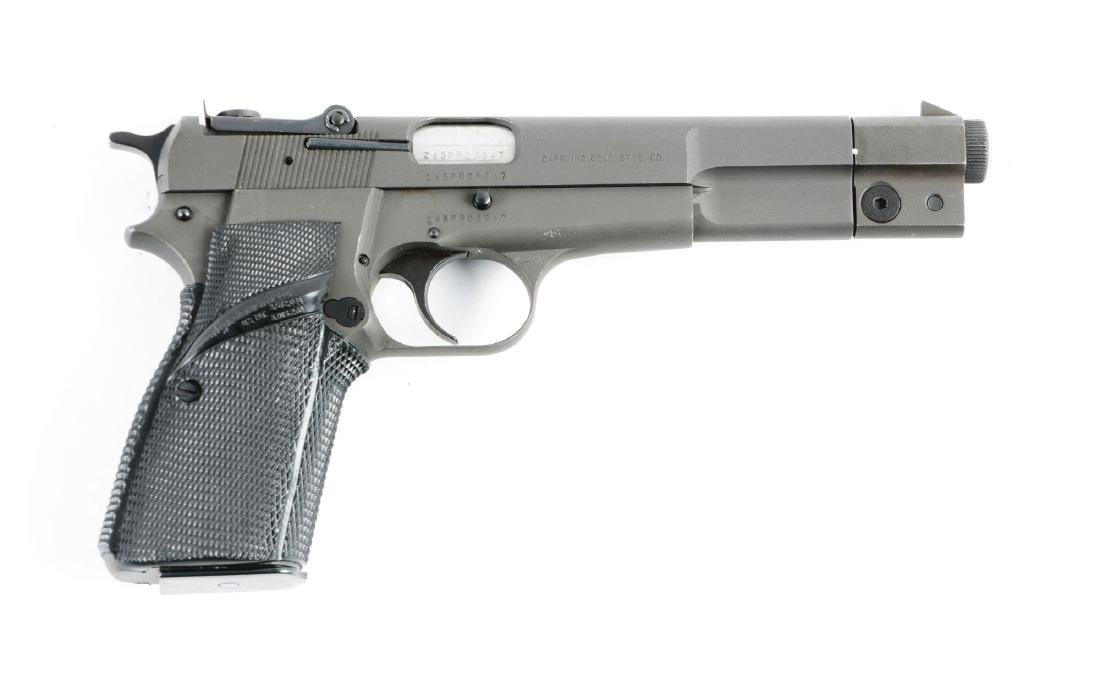 (M) FN High Power 9mm Semi-Automatic Pistol.