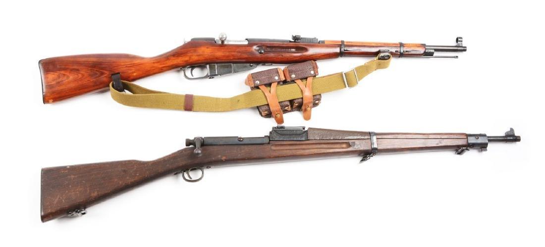 Lot of 2: Mosin Nagant Model 38 Carbine & Springfield