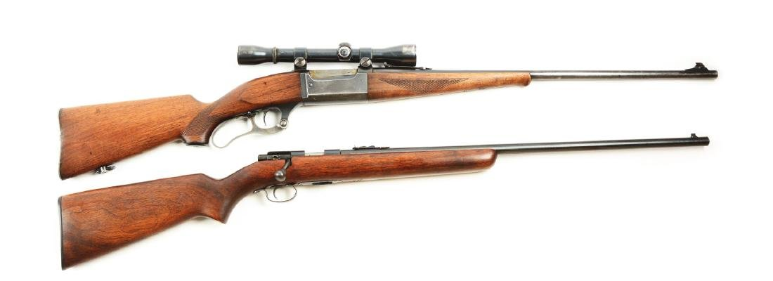 (C) Lot of 2: Pre-War Sporting Rifles.