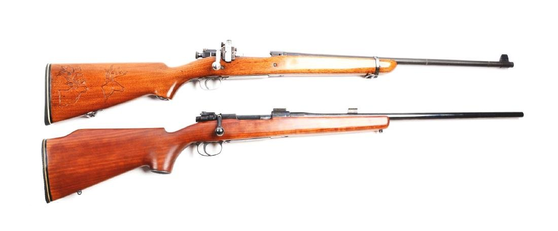 (C) Lot of 2: Sporting Military Rifles.