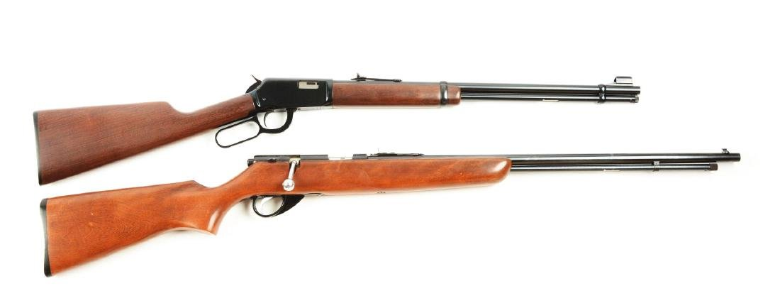 (M) Lot of 2: 22 Rimfire Rifles.