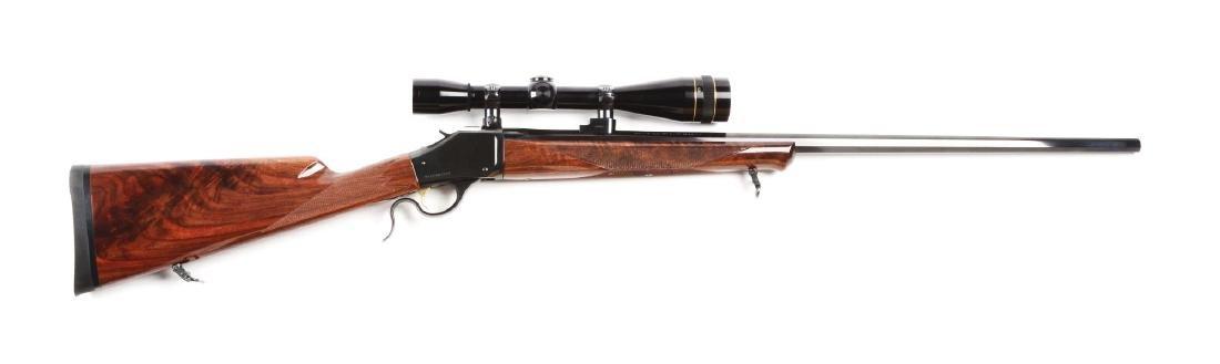 (M) Browning Model 1885 Low Wall Single Shot Rifle.