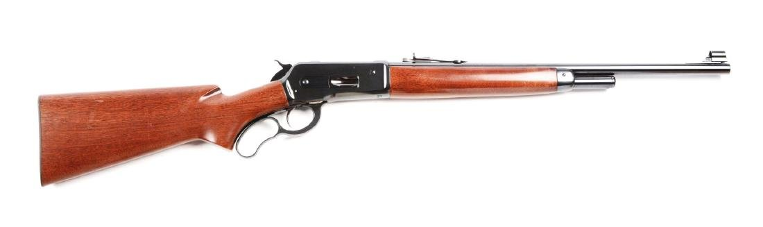 (M) Browning Model 71 Lever Action Carbine.