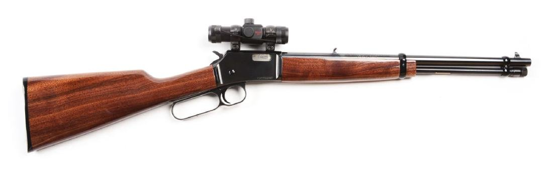 (M) Browning BL-22 Lever Action Rifle.