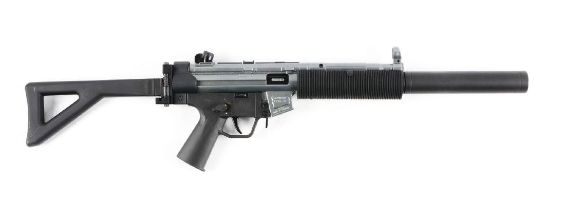 (M) MIB German GSG-5 .22 LR HV Semi-Automatic Rifle.