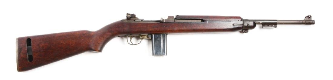 (C) Inland U.S. M1 Semi-Automatic .30 Carbine.