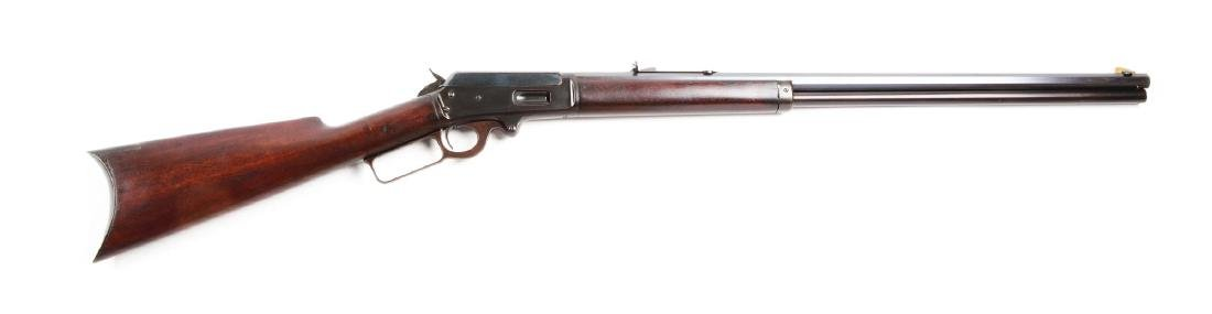 "(C) Marlin Model 1893 Lever Action ""B"" Rifle."