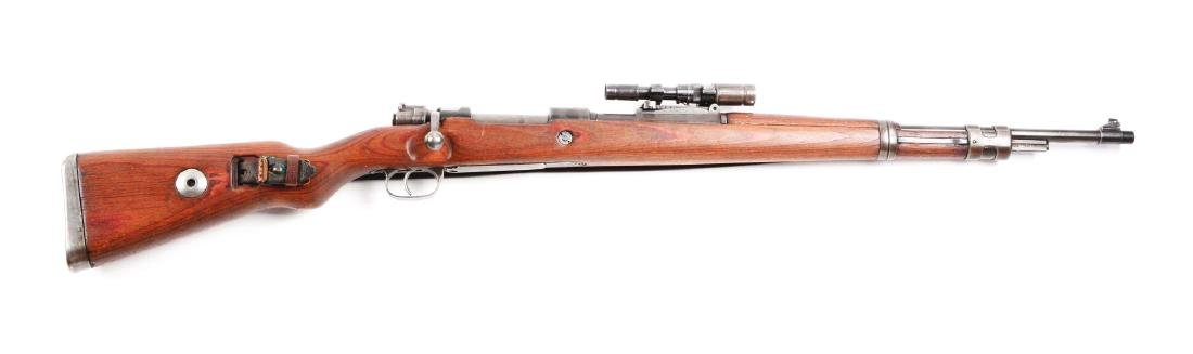 (C) Nazi Marked Mauser Model 98 ZF-41 1942 Date Sniper