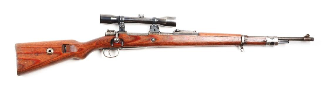 (C) Mauser K98 Bolt Action Sniper Rifle.