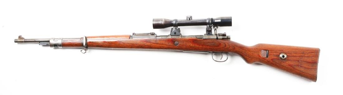 (C) Mauser K98 Bolt Action Sniper Rifle. - 2