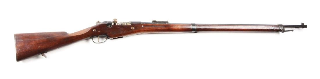 (C) Remington-Mannlicher Berthier Bolt Action Rifle