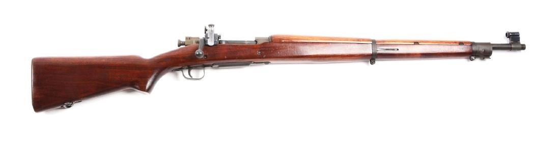 (C) U.S. Remington Model 03-A3 Bolt Action Rifle.