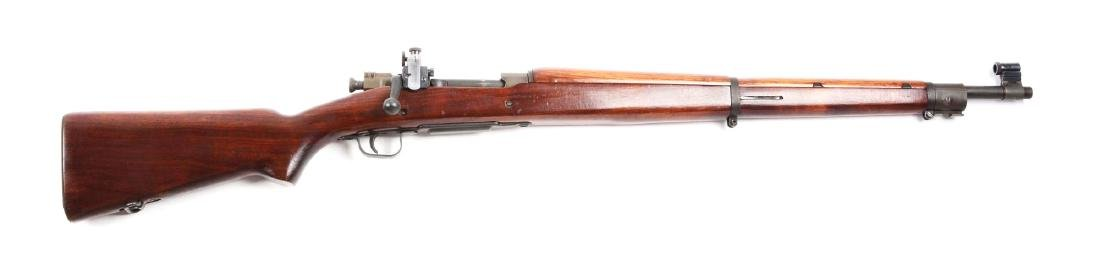 (C) U.S. Remington Model 03-A3 Bolt Action Rifle.
