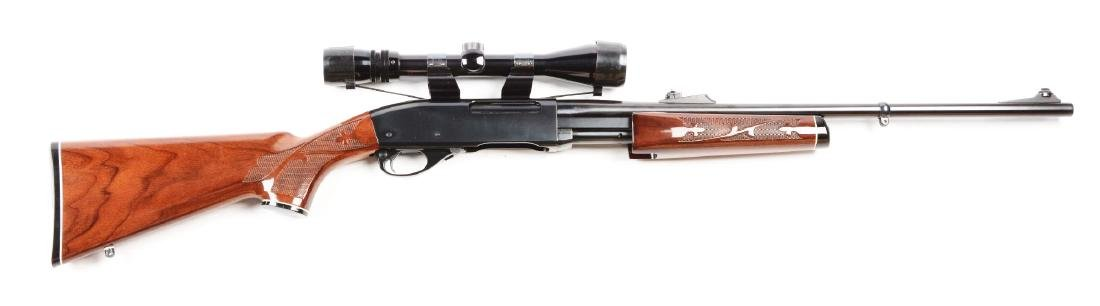 (M) Remington Model 7600 Slide Action Rifle.