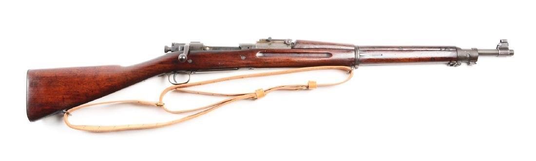 (C) Rock Island Arsenal Model 1903 Bolt Action Rifle.
