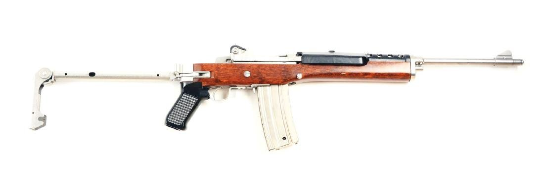 (M) Stainless Ruger Mini-14 Semi-Automatic Carbine with