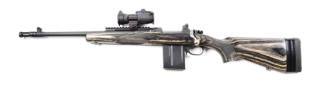 (M) Ruger Gunsite Scout Bolt Auction Rifle (Left