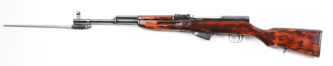 (C) Russian SKS Semi-Automatic Rifle. - 2