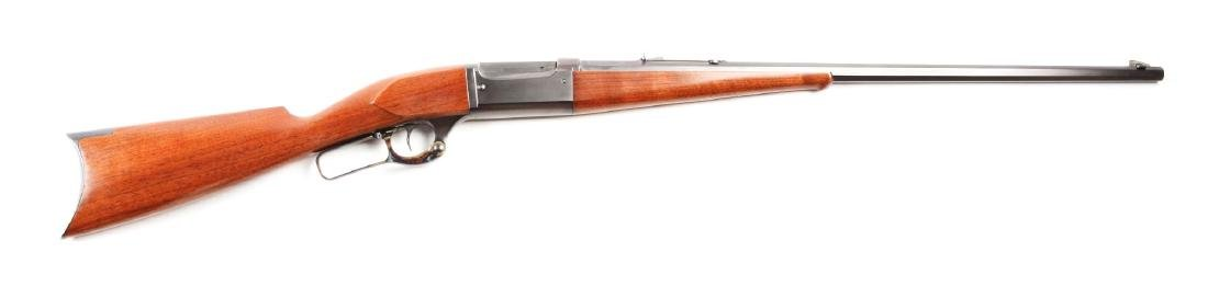 (C) Savage Model 1899 Lever Action Octagon Rifle.
