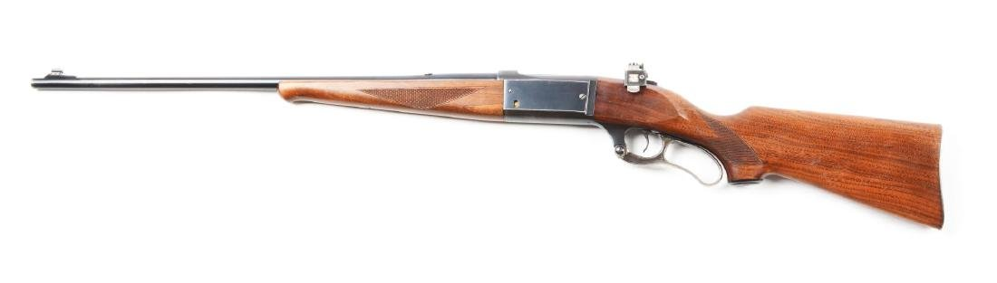 (C) Savage Model 99EG Lever Action Rifle. - 2