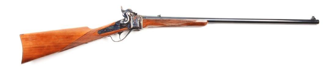 (M) Sile U.S. Sharps .45-70 Model 1874 Sporting Rifle.