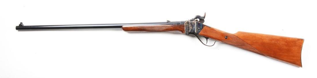 (M) Sile U.S. Sharps .45-70 Model 1874 Sporting Rifle. - 2