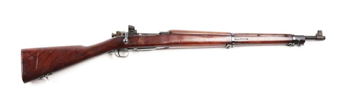 (C) U.S. Smith-Corona Model 1903-A3 Bolt Action Rifle.