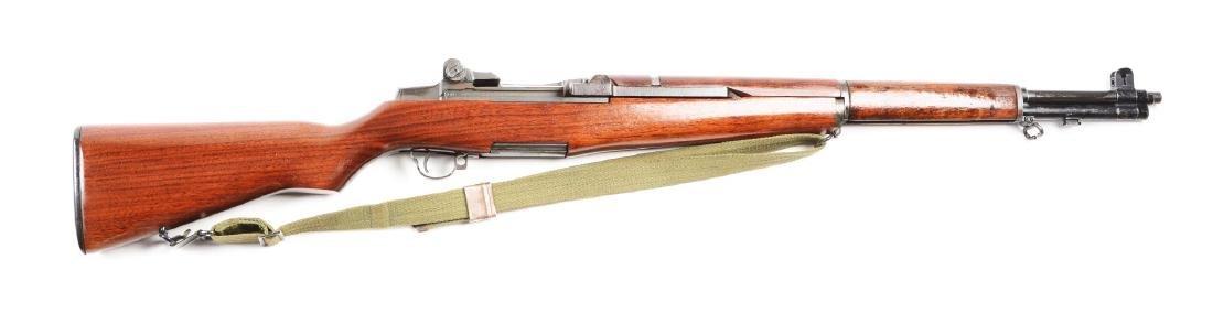 (C) U.S. Springfield M-1Garand Semi-Automatic Rifle.