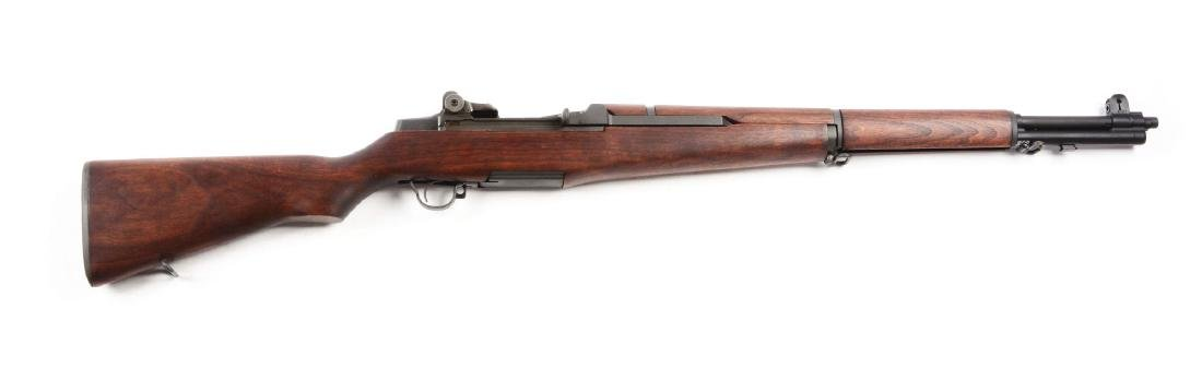 (C) U.S. Springfield M1 Garand Bolt Action Rifle.