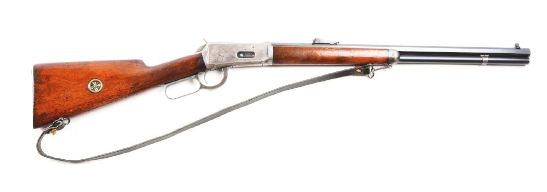 (C) Winchester Model 1894 Lever Action Short Rifle.