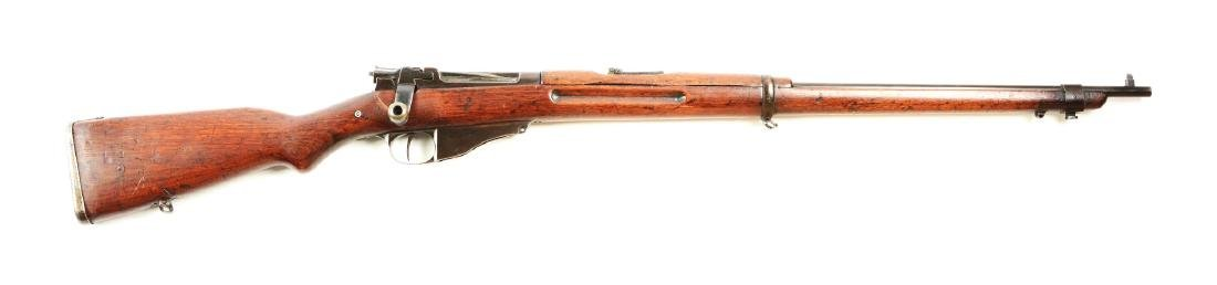 (A) Winchester Navy Straight Pull Bolt Action Rifle.