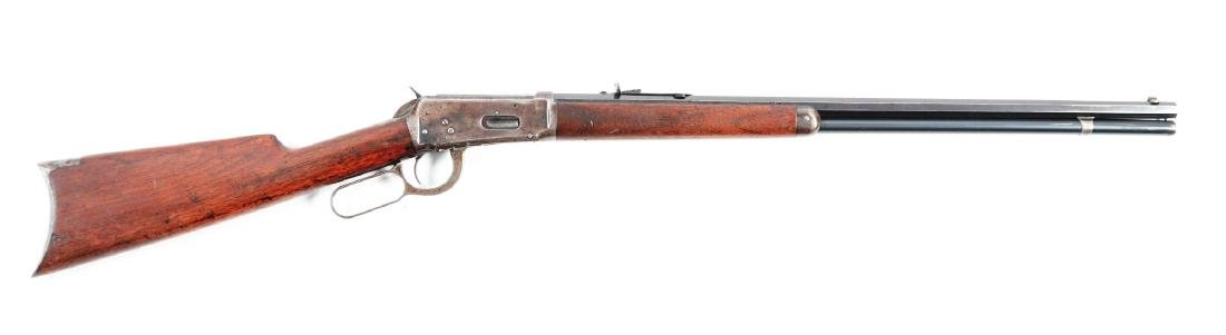 (C) Winchester Model 1894 Lever Action Rifle (.32-40).