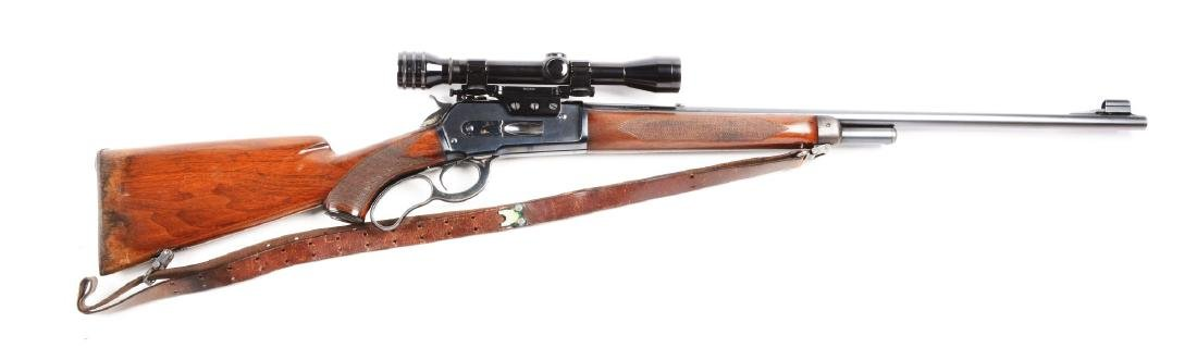 (C) Deluxe Winchester Model 71 Lever Action Rifle