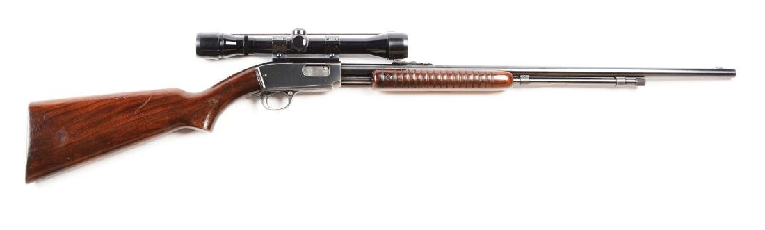 (C) Winchester Model 61 Slide Action Rifle (1951).
