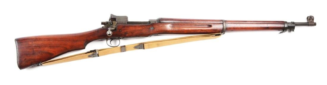 (C) Winchester Model 1917 Bolt Action Rifle.