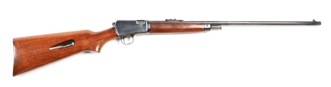 (C) Winchester Model 63 Semi-Automatic Rifle.