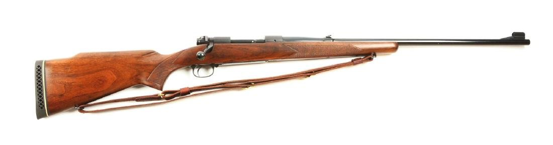 (C) Winchester Pre-64 Model 70 Bolt Action Rifle.