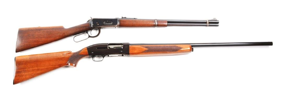 (C) Lot of 2: Winchester Model 94 Carbine and Model 50