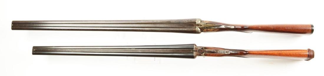 (C) Lot of 2: Side by Side Box Lock Shotguns. - 3