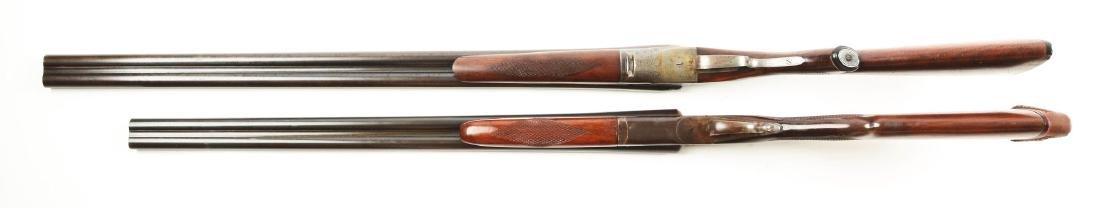 (C) Lot of 2: Side by Side Box Lock Shotguns. - 4