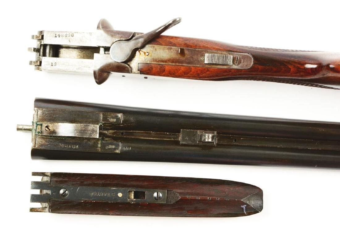 (C) Lot of 2: Side by Side Box Lock Shotguns. - 6