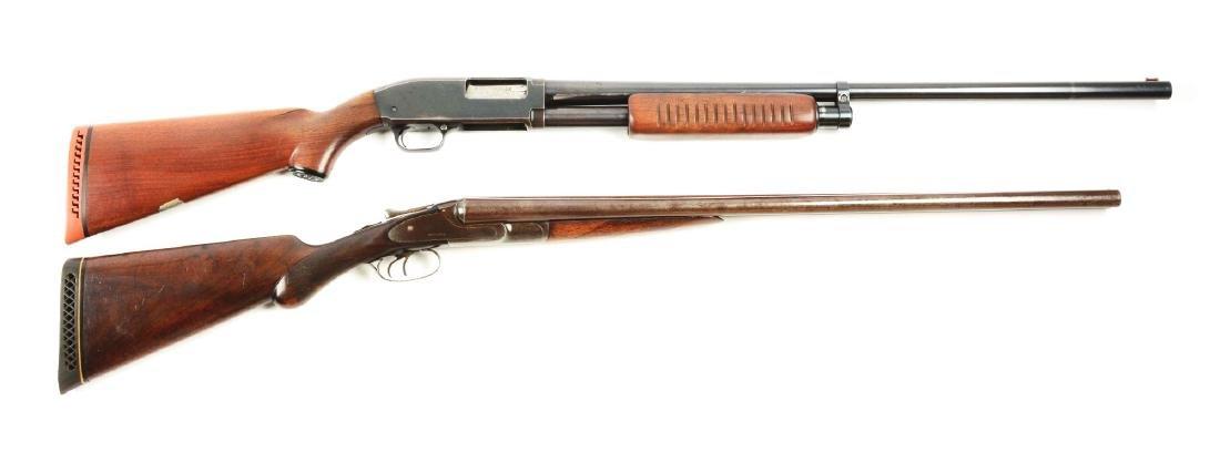 (C) Lot of 2: Shotguns.