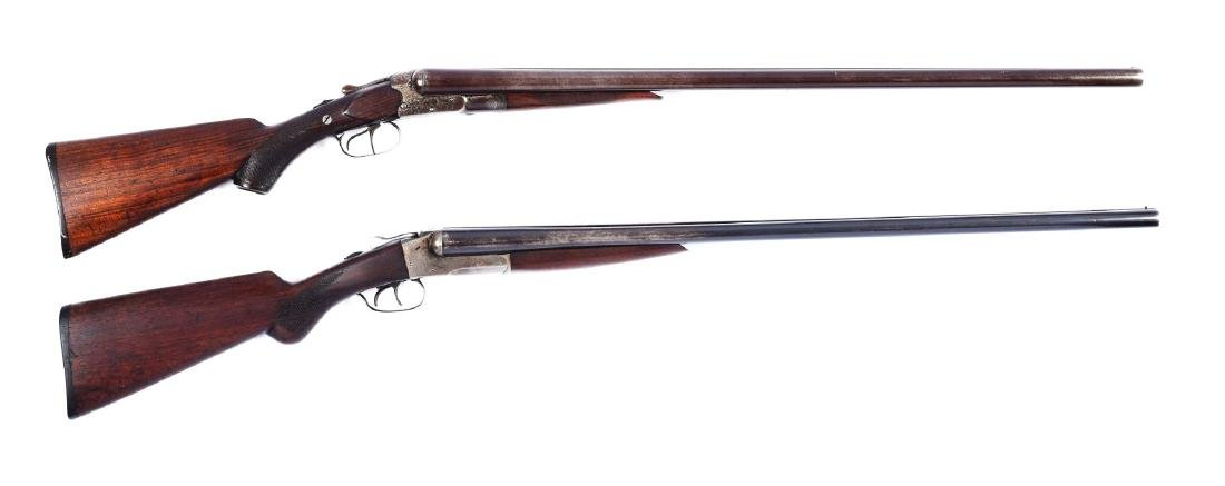 (C) Lot of 2: 12-Bore Double Barrel Boxlock Shotguns