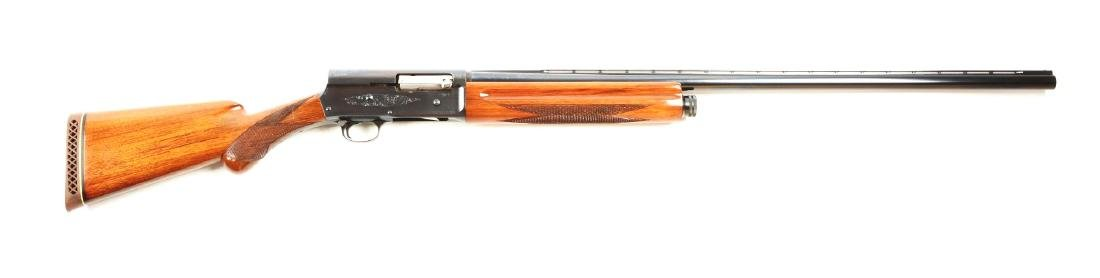 (C) Browning A-5 Magnum Semi-Automatic Shotgun.